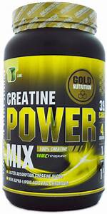 Protein And Creatine Mix