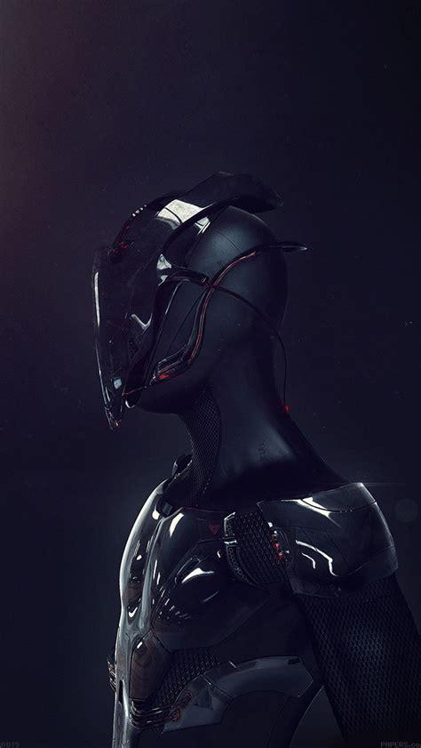 futuristic robot body armor iphone  wallpaper hd