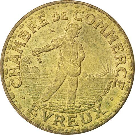 chambre de commerce evreux 85570 evreux chambre de commerce 2 francs 1922 elie 10