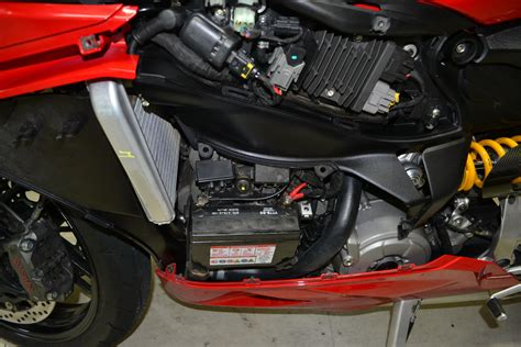 Ducati 848 Fuse Box by Ultrabatt Lithium Battery Installed Ducati 899 Panigale