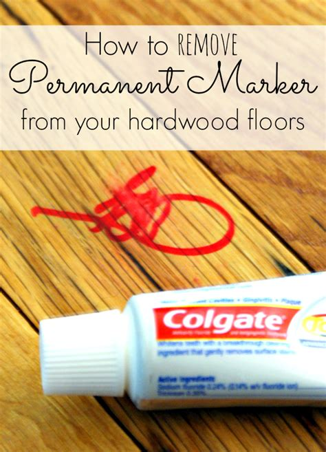 how to get sharpie off wood table permanent marker removal