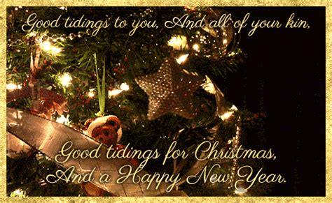 good tidings    christmas   happy  year