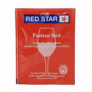 Red Star Yeast Chart Wine Yeast Red Star Pasteur Red Winemaking Yeasts And