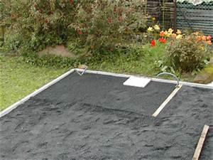 Poser Des Dalles Pvc : d coration de la maison pose de dalles sur graveline ~ Dailycaller-alerts.com Idées de Décoration