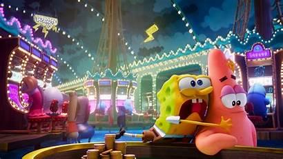Spongebob Sponge Run 4k Wallpapers Patrick Laptop