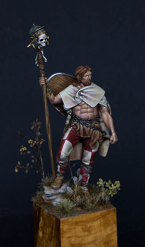 celtic warrior  patrick schlaubi kaiser puttypaint