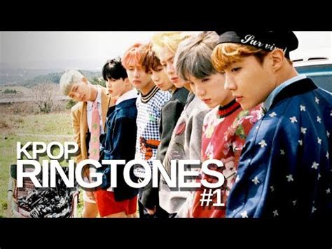 Kpop Ringtones #1  Bts, Exo, Got7, Snsd And More Youtube
