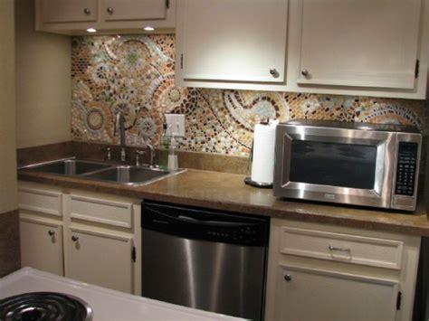 Mosaic Kitchen Backsplash, Inexpensive Easy Backsplash Diy