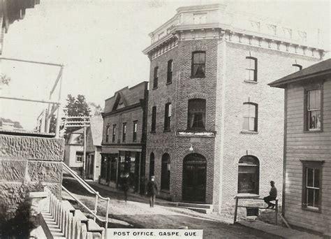 bureau de poste bureau de poste post office gaspé gaspesian heritage