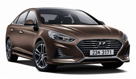 2018 Hyundai Sonata Unveiled With Sharp New Look, Sporty