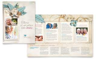 religious wedding invitations hospice home care brochure template word publisher