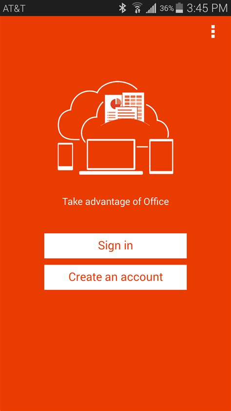 Office 365 Mobile by The Office 365 Mobile App For Android Phones