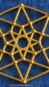 Tesseract - 4d Hypercube - E4 (5AAZTLFS9) by CrystalHealingArt