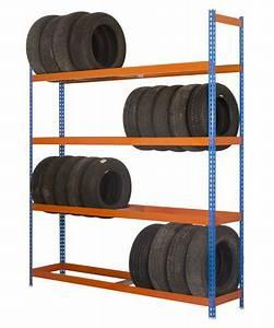 Rack A Pneu : rack pneu pour atelier 32 pneus max 300kg par niveau ~ Dallasstarsshop.com Idées de Décoration