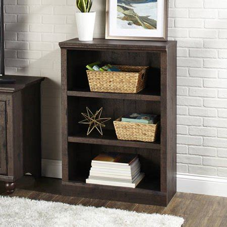 better homes and gardens bookshelf better homes and gardens crossmill collection 3 shelf