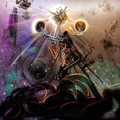 Fantasy Demiurge Creatures Sci Fi Construct Eldritch