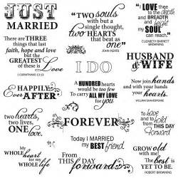 memorable wedding wedding quotes ideas for finding just the right wording for your wedding - Wedding Words