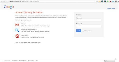 Www Gmail Login Home Page by How My Gmail Account Almost Got Hacked Dignited