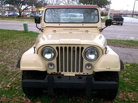 jeep amc amc wrangler cj7 jeep cj7