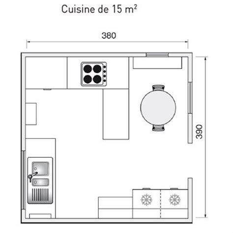 plan cuisine ouverte 9m2 plan de cuisine l 39 aménager de 1m2 à 32m2