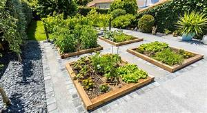 Carre De Jardin Potager : nos r alisations de jardin et am nagement d 39 ext rieur en ~ Premium-room.com Idées de Décoration