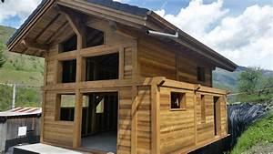 Chalet En Bois Habitable D Occasion : chalets maisons ossature bois aime en savoie battendier ~ Melissatoandfro.com Idées de Décoration