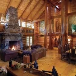 Inside Log Cabin Dream Homes