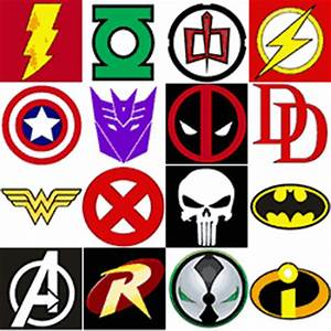 The Super Collection of Superhero Logos « Find Logos At ...