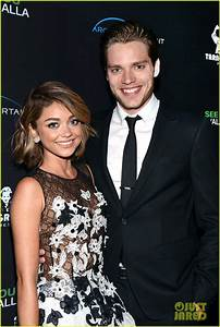 Sarah Hyland Gets Support From Boyfriend Dominic Sherwood ...
