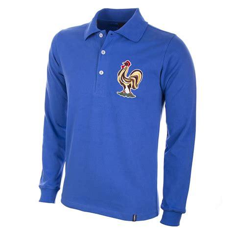 shop france  long sleeve retro football shirt