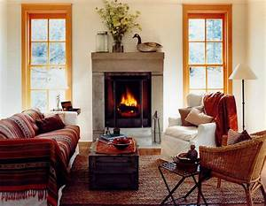 Traditional, Cozy, Living, Rooms