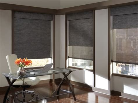 black  shades dual shades accent blinds