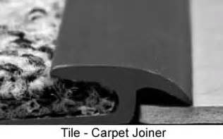 Johnsonite Rubber Tile Adhesive by Floor Transition Tile To Carpet Transition Strip