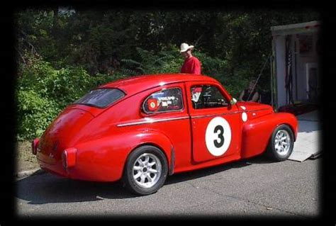 volvo adventures pvs race car