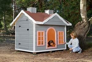 Cabane Pour Chien : niche pour grande chien isol e cerler cabanes green house ~ Melissatoandfro.com Idées de Décoration