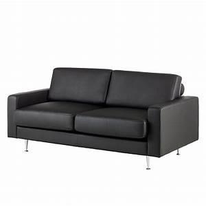 2 Sitzer Sofa Günstig : sofa laval 2 sitzer kunstleder schwarz fredriks g nstig ~ Frokenaadalensverden.com Haus und Dekorationen