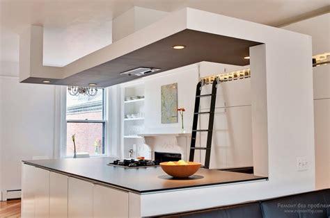 kitchen ceiling lighting design современный дизайн потолка на кухне 30 стильных идей 6518