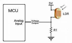 hookup wire up arduino to light dependent With ldr switch circuit
