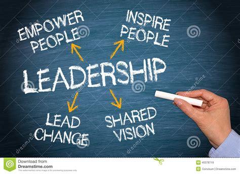 leadership  essential qualities stock image image