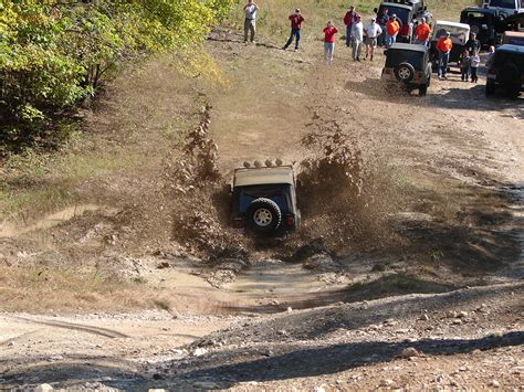 Jeep 174 Off Roading 101 Water And Mud The Jeep Blog