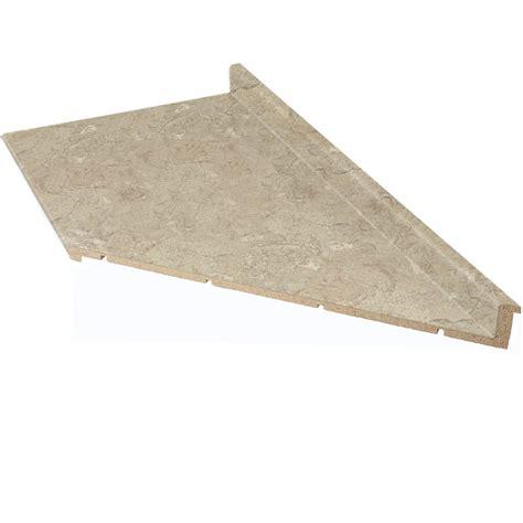 lowes laminate countertop shop vti laminate countertops 8 ft travertine matte