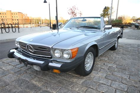Car is all original though with 130000 and that is nothing for a mercedes. 1984 Mercedes 380 SL Convertible for sale