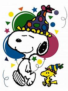 Snoopy birthday clip art so kute | Birthday Cakes with ...