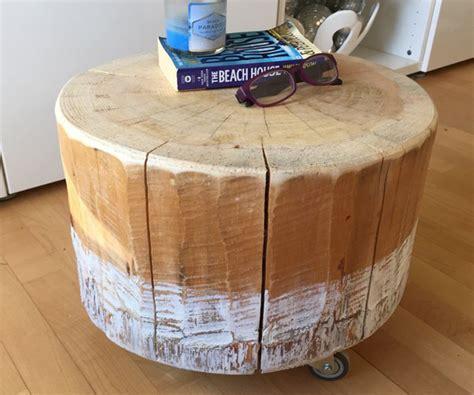 fabriquer une table de comment fabriquer une table basse avec un tronc d arbre diy