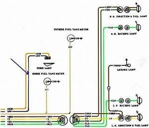 47  67 72 Chevy C10 Wiring Diagram