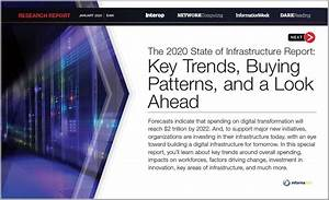 2020 State Of Infrastructure Report