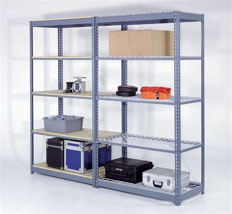 Commercial Heavy Duty Steel Shelving Racks For Storage