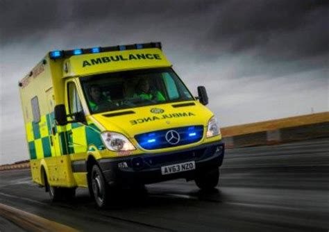 orwell truck van wins million front  ambulance