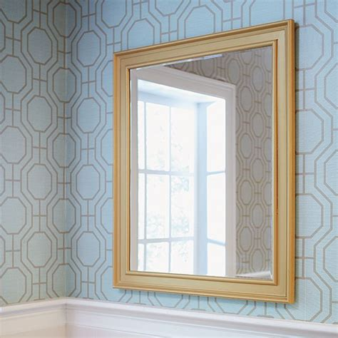 How To Frame Bathroom Mirror With Molding by How To Make A Diy Mirror Frame With Moulding Beautiful