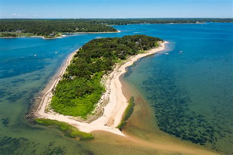 A Private Island Off The Coast Of Cape Cod Is For Sale